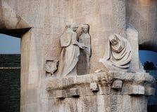 Iglesia de Gaudi Fotos de archivo