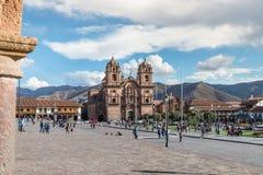 Iglesia De Gesù, Cusco, Perù Fotografie Stock Libere da Diritti