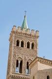 Iglesia de Gil Abad del santo en Zaragoza, España Fotos de archivo
