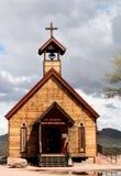 Iglesia de Goldfield Foto de archivo libre de regalías
