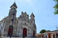 Iglesia de Guadalupe kościół w Granada, Nikaragua obraz stock