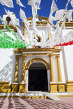 Iglesia De Guadalupe, San Cristobal De La Casas, Chiapas Arkivfoto
