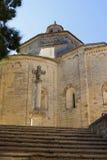 Iglesia de Guilhem le desert del santo Fotografía de archivo libre de regalías