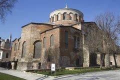 Iglesia de Hagia Irene Imágenes de archivo libres de regalías