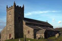 Iglesia de Hawkshead Imagen de archivo libre de regalías
