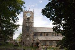 Iglesia de Haworth Fotografía de archivo