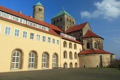 Iglesia de Hildesheim - de San Miguel Imagen de archivo libre de regalías