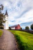 Iglesia de Holar Fotos de archivo