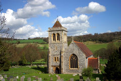 Iglesia de Hughenden fotos de archivo