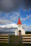 Iglesia de Icelanic Imagen de archivo