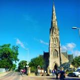 Iglesia de Invergordon foto de archivo libre de regalías