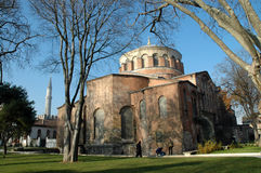 Iglesia de Irina dentro del palacio de Topkapi, Estambul, Turquía Foto de archivo