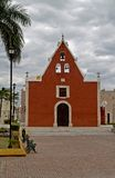 Iglesia DE Itzimná, Mérida, Mexico stock fotografie