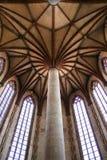 Iglesia de Jacobins, techo, Toulouse, Francia Imagen de archivo