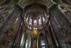 Iglesia de Jacques del santo, Compiegne, Oise, Francia Fotografía de archivo libre de regalías