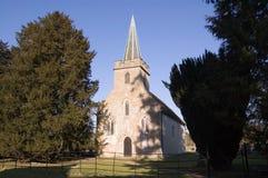 Iglesia de Jane Austen, Steventon, Hampshire Fotos de archivo libres de regalías