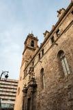 Iglesia de Joan del Mercat del santo en Valencia Fotografía de archivo