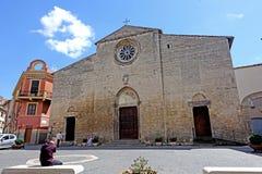Iglesia de Juan de los santos de Tarquinia Imagenes de archivo