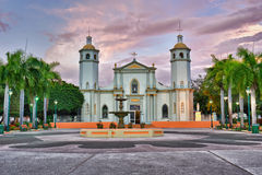 Iglesia de Juana Díaz Fotografía de archivo libre de regalías