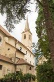 Iglesia de Kaltern Foto de archivo