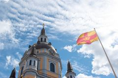 Iglesia de Katarina del kyrka de Katarina en Södermalm imagen de archivo libre de regalías