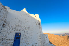Iglesia de Keraleousa en Oria Foto de archivo