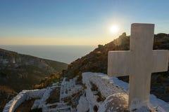Iglesia de Keraleousa en Oria Fotografía de archivo libre de regalías
