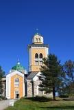 Iglesia de Kerimaki Fotos de archivo libres de regalías