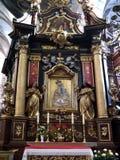Iglesia de Kraków - de Corpus Christi - Polonia Foto de archivo