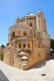 Iglesia de la abadía de Dormition. Jerusalén. Israel Fotografía de archivo libre de regalías