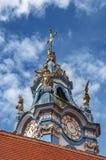 Iglesia de la abadía de Durnstein, Austria Fotografía de archivo libre de regalías