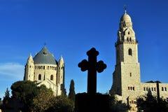 Iglesia de la abadía de Hagia Maria Sion Fotos de archivo