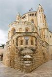 Iglesia de la abadía de Jerusalén - de Dormition Fotografía de archivo libre de regalías
