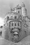 Iglesia de la abadía de Jerusalén - de Dormition Fotografía de archivo