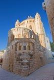 Iglesia de la abadía de Jerusalén - de Dormition Imágenes de archivo libres de regalías
