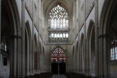 Iglesia de la abadía de la trinidad - VendÃ'me - Francia Imagenes de archivo