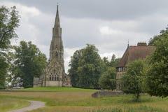 Iglesia de la abadía de las fuentes Fotografía de archivo