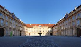 Iglesia de la abadía de Stift Melk Imagen de archivo