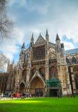Iglesia de la abadía de Westminster en Londres Foto de archivo