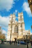 Iglesia de la abadía de Westminster en Londres Imagen de archivo libre de regalías