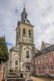 Iglesia de la abadía del parque cerca de Lovaina Imagen de archivo libre de regalías