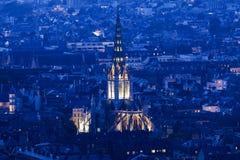 Iglesia de la abadía del santo-Ouen Foto de archivo libre de regalías