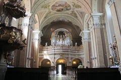 Iglesia de la abadía en Tihany Foto de archivo libre de regalías