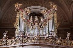 Iglesia de la abadía en Tihany Fotografía de archivo