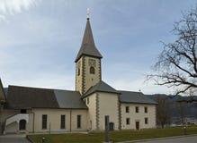 Iglesia de la abadía de Ossiach Imágenes de archivo libres de regalías