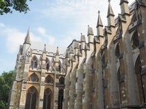 Iglesia de la abadía de Westminster en Londres Foto de archivo libre de regalías