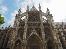 Iglesia de la abadía de Westminster en Londres Imágenes de archivo libres de regalías