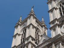 Iglesia de la abadía de Westminster en Londres Fotos de archivo