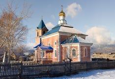 Iglesia de la aldea de Tuluk Foto de archivo libre de regalías