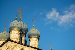Iglesia de la ascensión Moscú Imagen de archivo